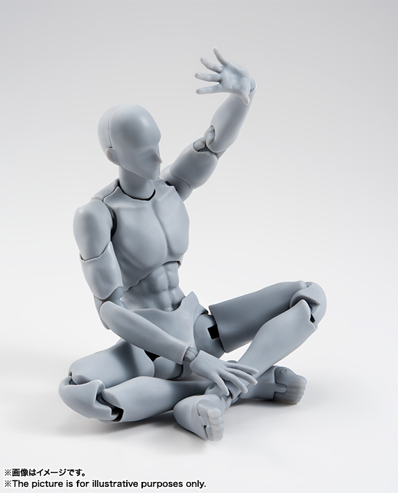 S.H.Figuarts ボディくん -宝井理人- Edition DX SET (Gray Color Ver.)  07