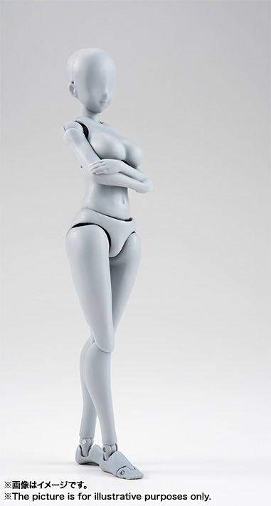 S.H.Figuarts ボディちゃん -矢吹健太朗- Edition DX SET (Gray Color Ver.) 03