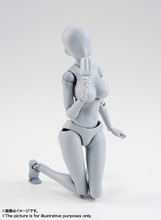 S.H.Figuarts ボディちゃん -矢吹健太朗- Edition DX SET (Gray Color Ver.) 08