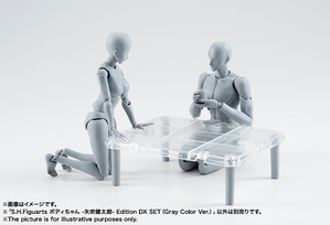 S.H.Figuarts ボディちゃん -矢吹健太朗- Edition DX SET (Gray Color Ver.) 12