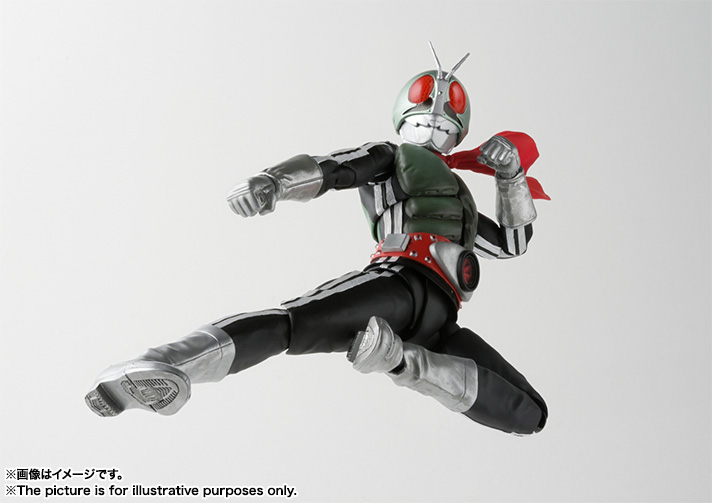 S.H.Figuarts(真骨彫製法) 仮面ライダー新1号 04