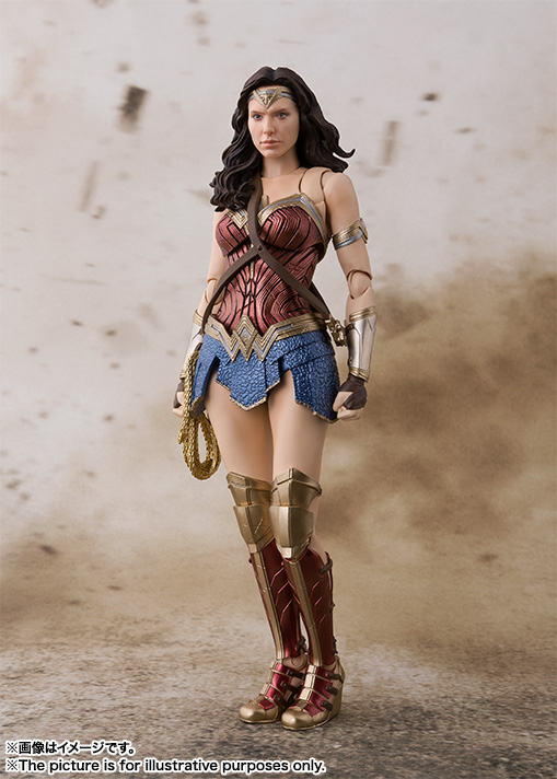 S.H.Figuarts ワンダーウーマン (JUSTICE LEAGUE) 01