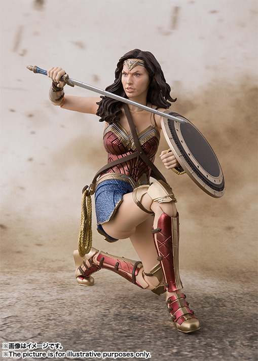 S.H.Figuarts ワンダーウーマン (JUSTICE LEAGUE) 08