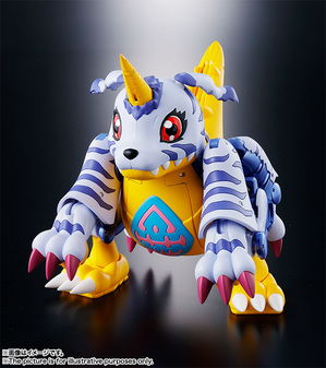 Super Evolution Soul 02 Metal Garurumon 02