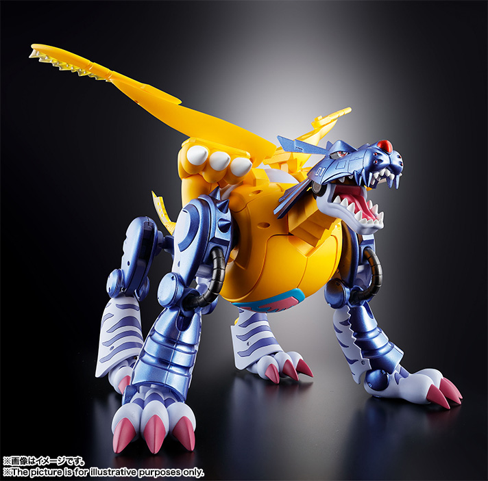 Super Evolution Soul 02 Metal Garurumon 06