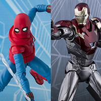 SHFiguarts Spider-Man (Homecoming) Home Made Suit ver. & Iron Man Mark 47