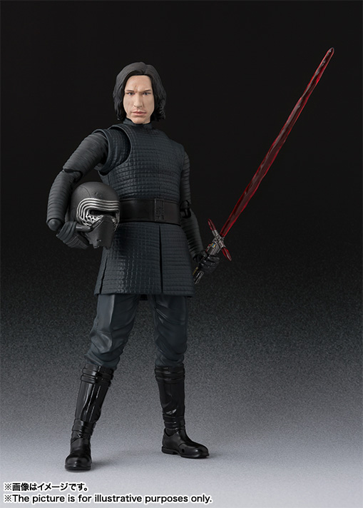 STAR WARS S.H.Figuarts - KYLO REN - The Last Jedi Item_0000012302_mKd9NeAY_01