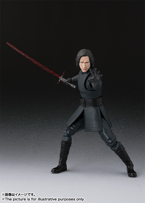 STAR WARS S.H.Figuarts - KYLO REN - The Last Jedi Item_0000012302_mKd9NeAY_03