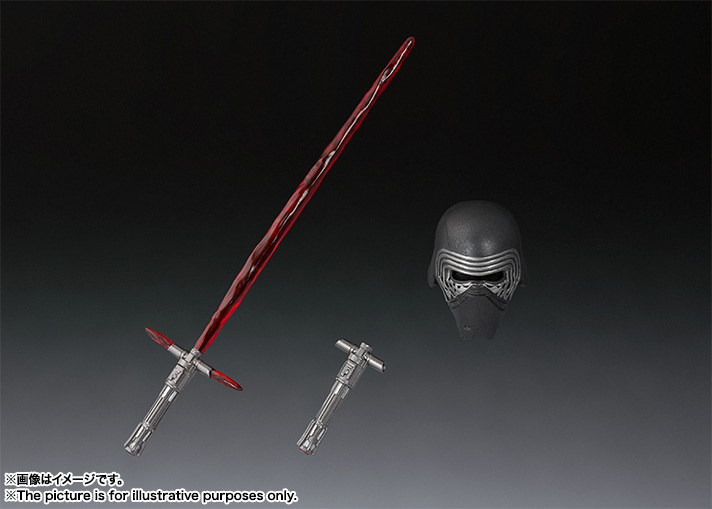 STAR WARS S.H.Figuarts - KYLO REN - The Last Jedi Item_0000012302_mKd9NeAY_06