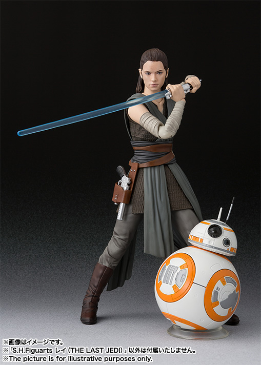 STAR WARS S.H.Figuarts - REY - The Last Jedi Item_0000012304_uLHZGISu_08