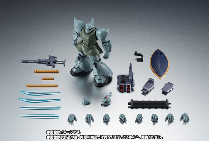 ROBOT魂 <SIDE MS> MS-14A 量産型ゲルググ&C型装備 ver. A.N.I.M.E. 10