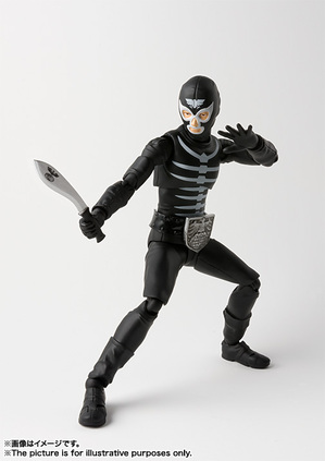 S.H.Figuarts ショッカー戦闘員(骨) 03