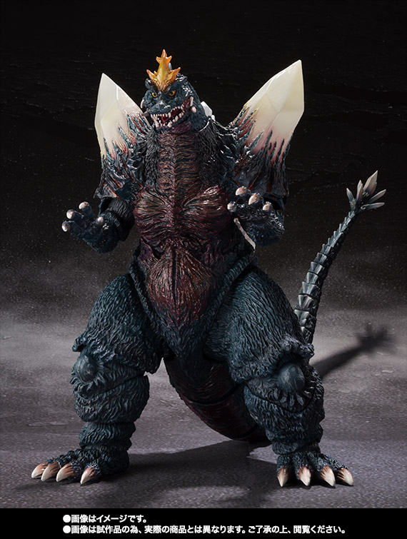 S.H.MonsterArts スペースゴジラ&リトルゴジラ Special Color Ver. 03