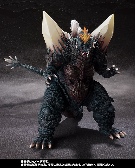 S.H.MonsterArts スペースゴジラ&リトルゴジラ Special Color Ver. 05
