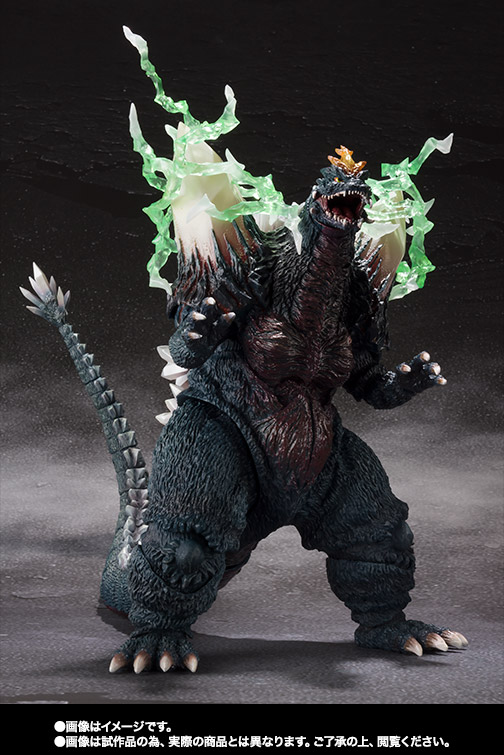 S.H.MonsterArts スペースゴジラ&リトルゴジラ Special Color Ver. 06