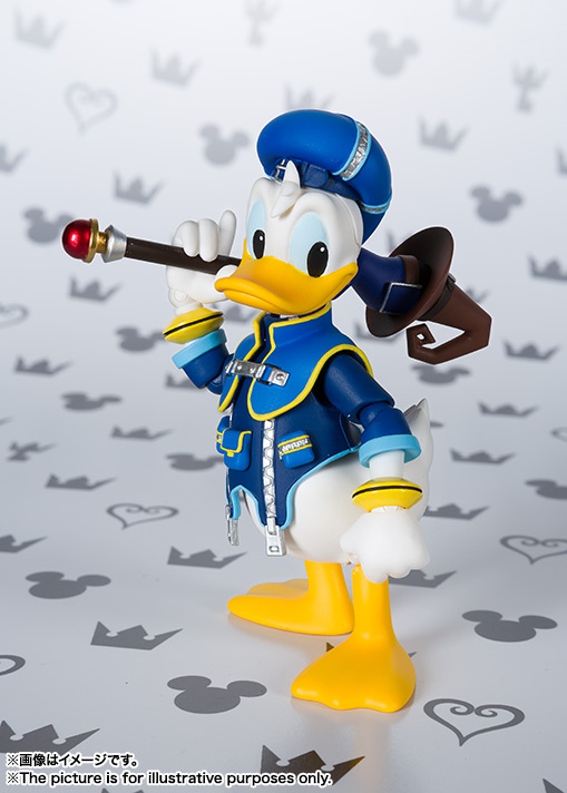 SHFiguarts Donald (KINGDOM HEARTS II) 01