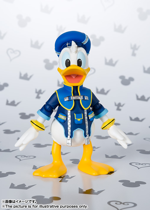 SHFiguarts Donald (KINGDOM HEARTS II) 02
