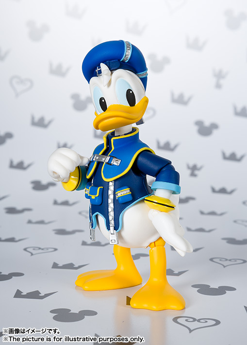 SHFiguarts Donald (KINGDOM HEARTS II) 03