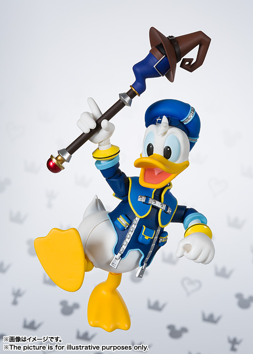 SHFiguarts Donald (KINGDOM HEARTS II) 04