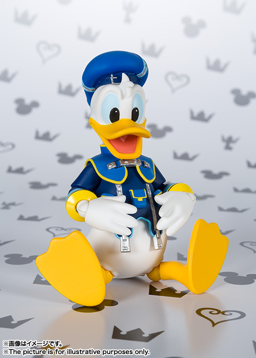 SHFiguarts Donald (KINGDOM HEARTS II) 06
