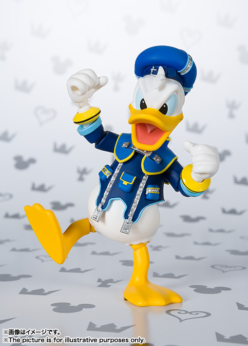 SHFiguarts Donald (KINGDOM HEARTS II) 07