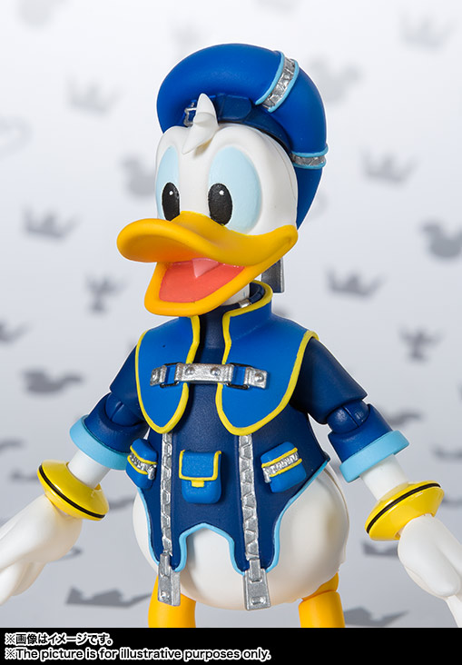 SHFiguarts Donald (KINGDOM HEARTS II) 08