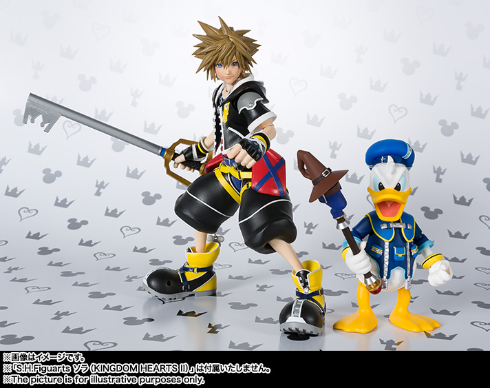 SHFiguarts Donald (KINGDOM HEARTS II) 11