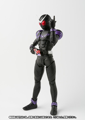 SHFiguarts (true steel engraving method) Masked Rider Joker 02