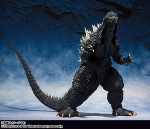 S.H.MonsterArts ゴジラ (2002) 01