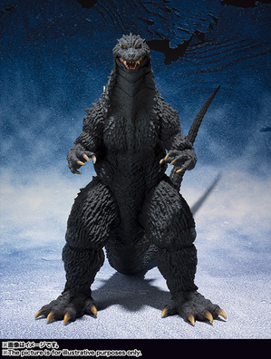 S.H.MonsterArts ゴジラ (2002) 02
