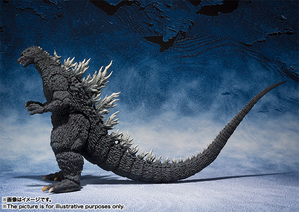 S.H.MonsterArts ゴジラ (2002) 03
