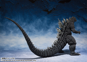 S.H.MonsterArts ゴジラ (2002) 04