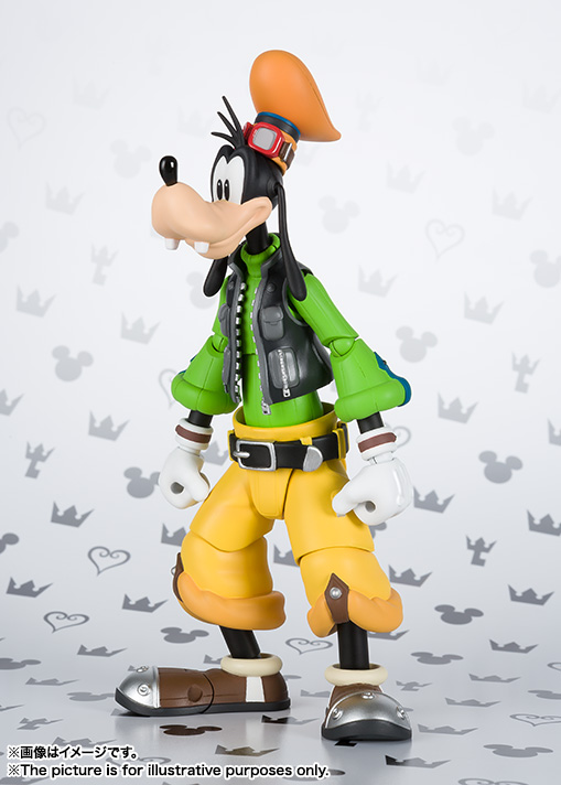 S.H.Figuarts グーフィー(KINGDOM HEARTS II) 02