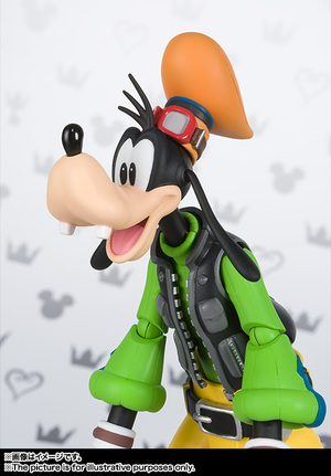 S.H.Figuarts グーフィー(KINGDOM HEARTS II) 07