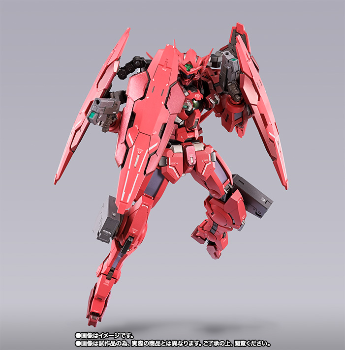 METAL BUILD ガンダムアストレア TYPE-F (GN HEAVY WEAPON SET) 06