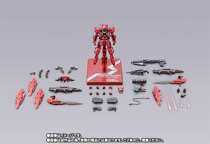 METAL BUILD ガンダムアストレア TYPE-F (GN HEAVY WEAPON SET) 08
