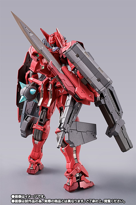 METAL BUILD ガンダムアストレア TYPE-F (GN HEAVY WEAPON SET) 15