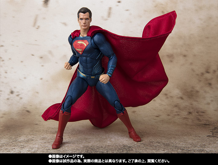S.H.Figuarts スーパーマン (JUSTICE LEAGUE) 02
