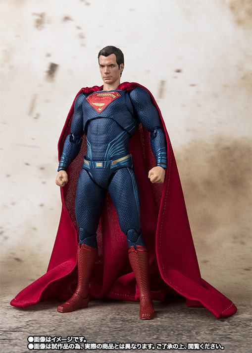 S.H.Figuarts スーパーマン (JUSTICE LEAGUE) 04