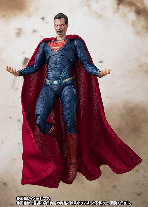 S.H.Figuarts スーパーマン (JUSTICE LEAGUE) 07