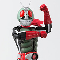 SHFiguarts (true steel carving process) Kamen Rider New No. 2
