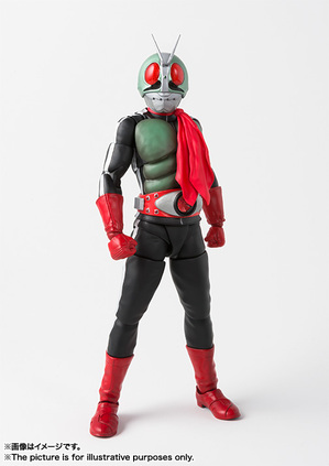 SHFiguarts (true steel carving process) Kamen Rider New No.2 02