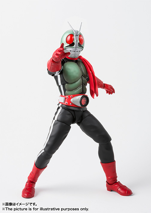 SHFiguarts (true steel carving process) Kamen Rider New No. 2 04
