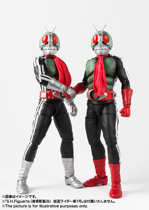 SHFiguarts (true steel carving process) Masked Rider New No. 2 05