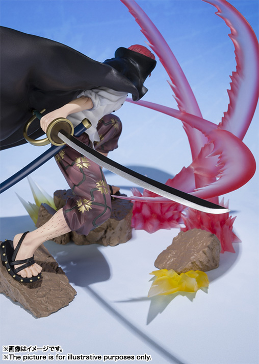 Figuarts Zero Shanks - Haier color ambition - 04