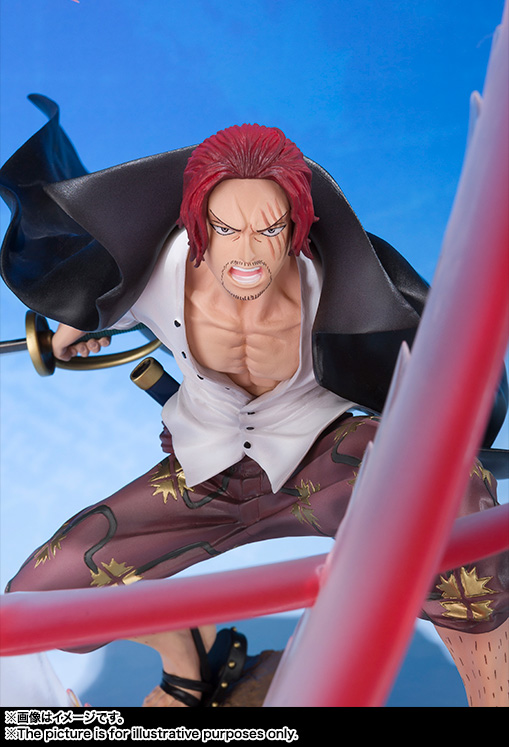 Figuarts Zero Shanks - Haier Color Intensity - 06