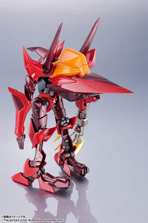 METAL ROBOT Spirit <SIDE KMF> Guren Saint Sea octopole 03