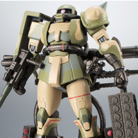 THE ROBOT SPIRITS <SIDE MS> MS-06J Zaku ver. For wetland zone battle ANIME