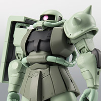 THE ROBOT SPIRITS <SIDE MS> MS-06 Mass production type Zaku ver. ANIME ~ First touch 2500 ~