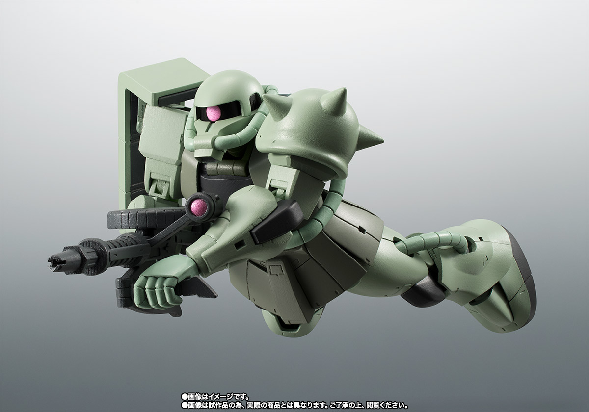 ROBOT魂 <SIDE MS> MS-06 量産型ザク ver. A.N.I.M.E. ~ファーストタッチ2500~  | 魂ウェブ